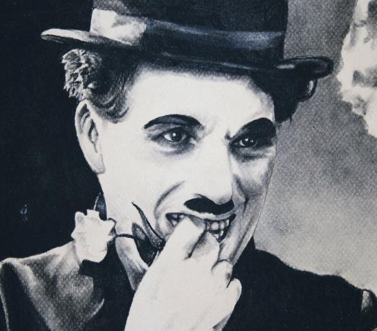 Charlie Chaplin by paprika